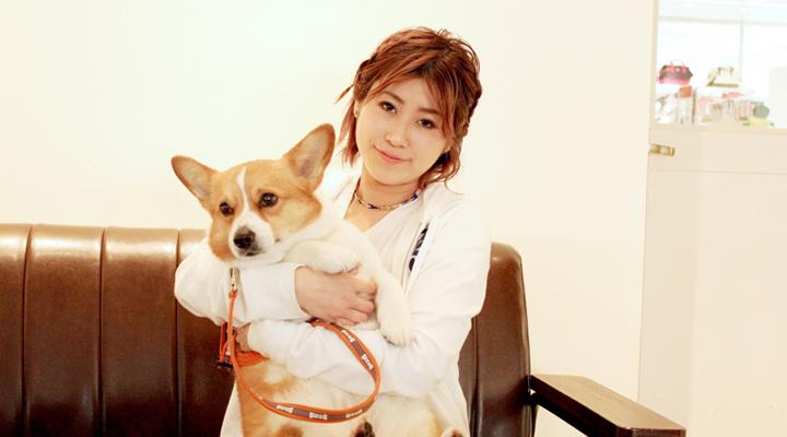イマルさんと愛犬バルー