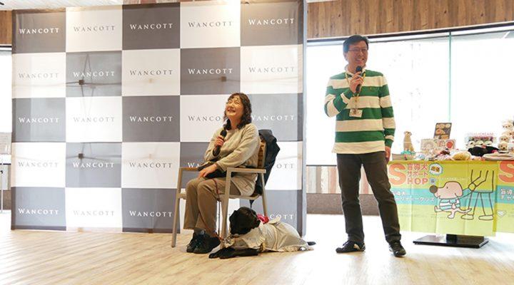 笑顔で話すユーザー碇谷さんの写真